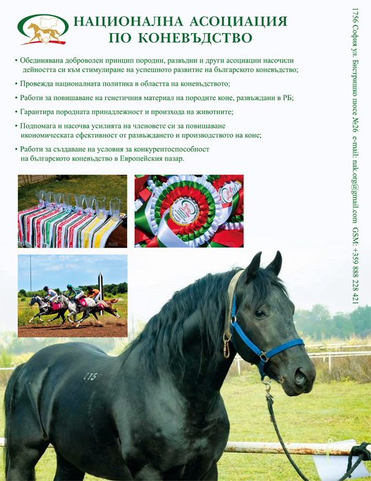 Animals BG 9-10 2015 reklama Horses