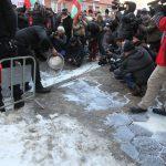 Протест на НОА и АРМПК, 30.01.2017 г.
